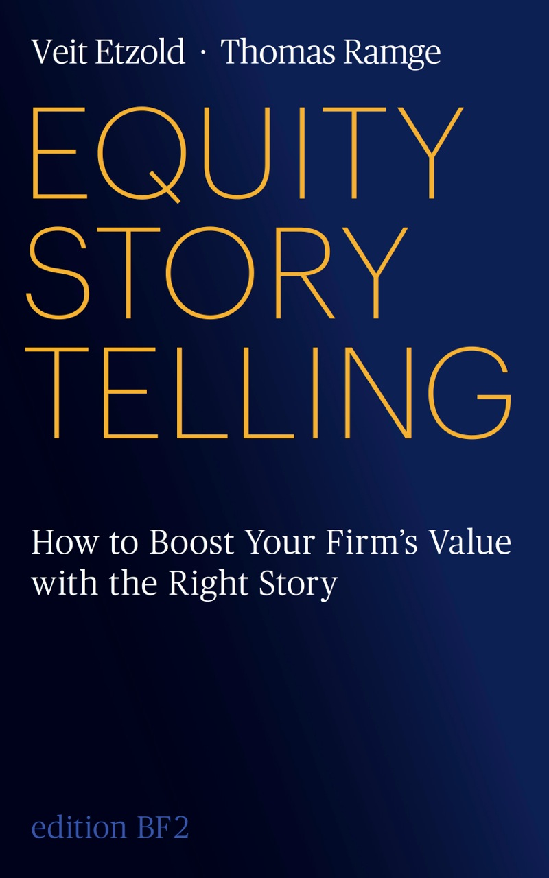 Keynote Speaker Veit Etzold Equity Storytelling
