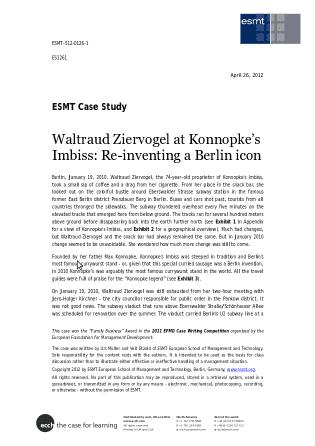 Publications – Case Studies